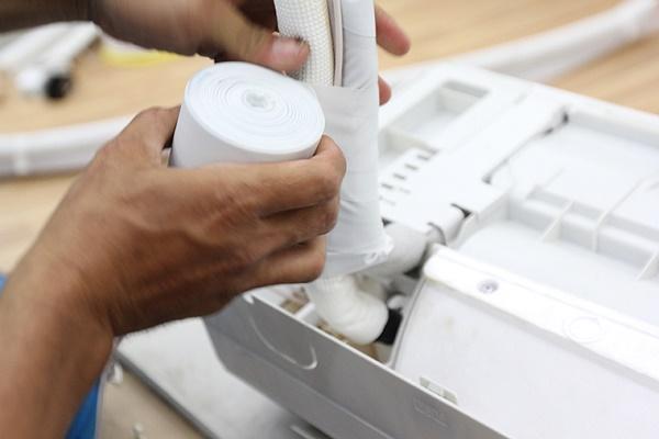 Cuốn lớp vải cách nhiệt cho ống đồng