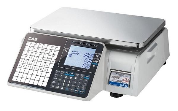 Cân điện tử in hóa đơn CAS CT-100P 3Kg/1g