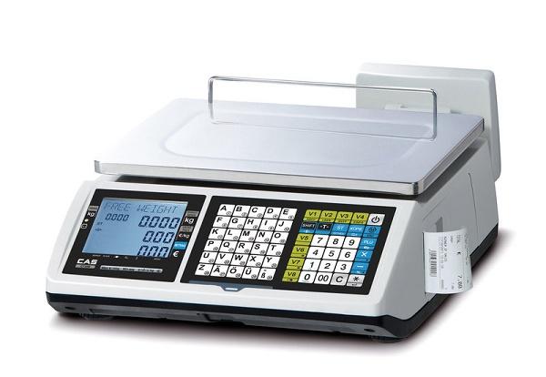 Cân tính tiền in hóa đơn CAS CT-100B 15Kg/5g