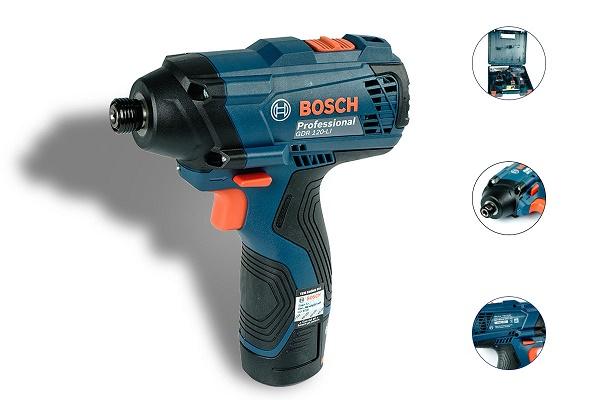 Bosch GDR 120-LIđi kèm với 2 pin và sạc