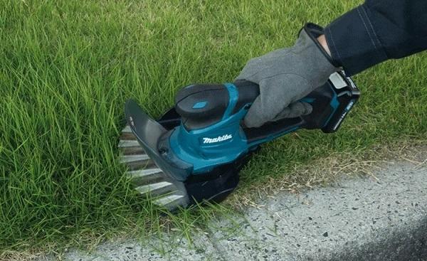 Cắt tỉa cỏ trong sân vườn