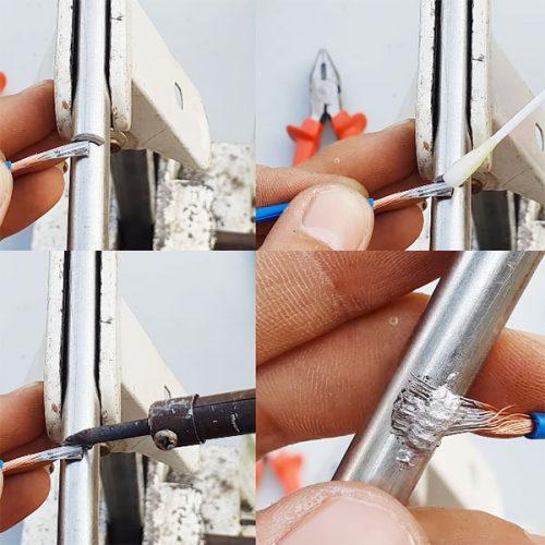 Cách hàn cell pin