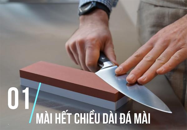 Cách mài dao