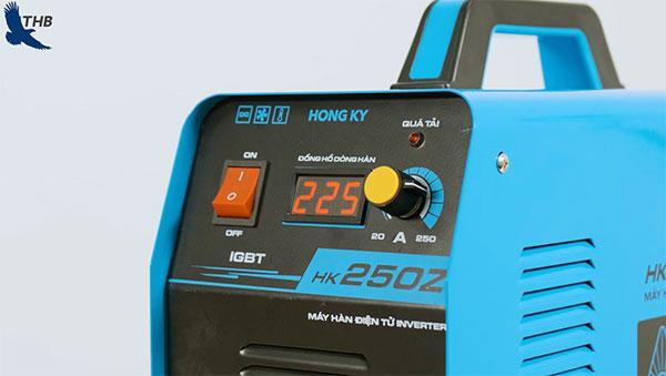 Giao diện Hồng Ký HK250A đơn giản, dễ sử dụng