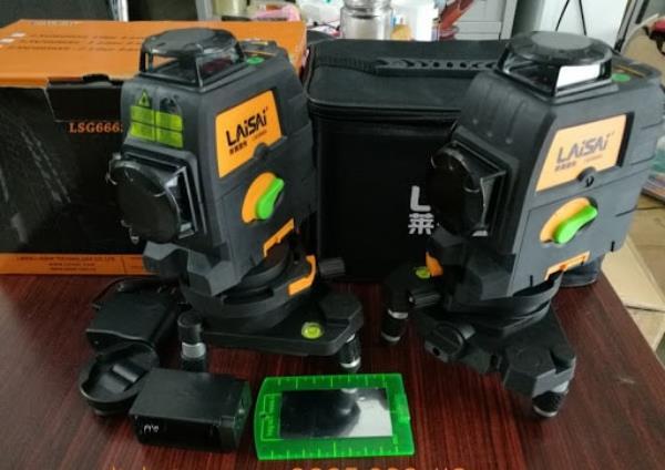 máy cân bằng laser 12 tia xanh Laisai Laser Laisai LSG666S