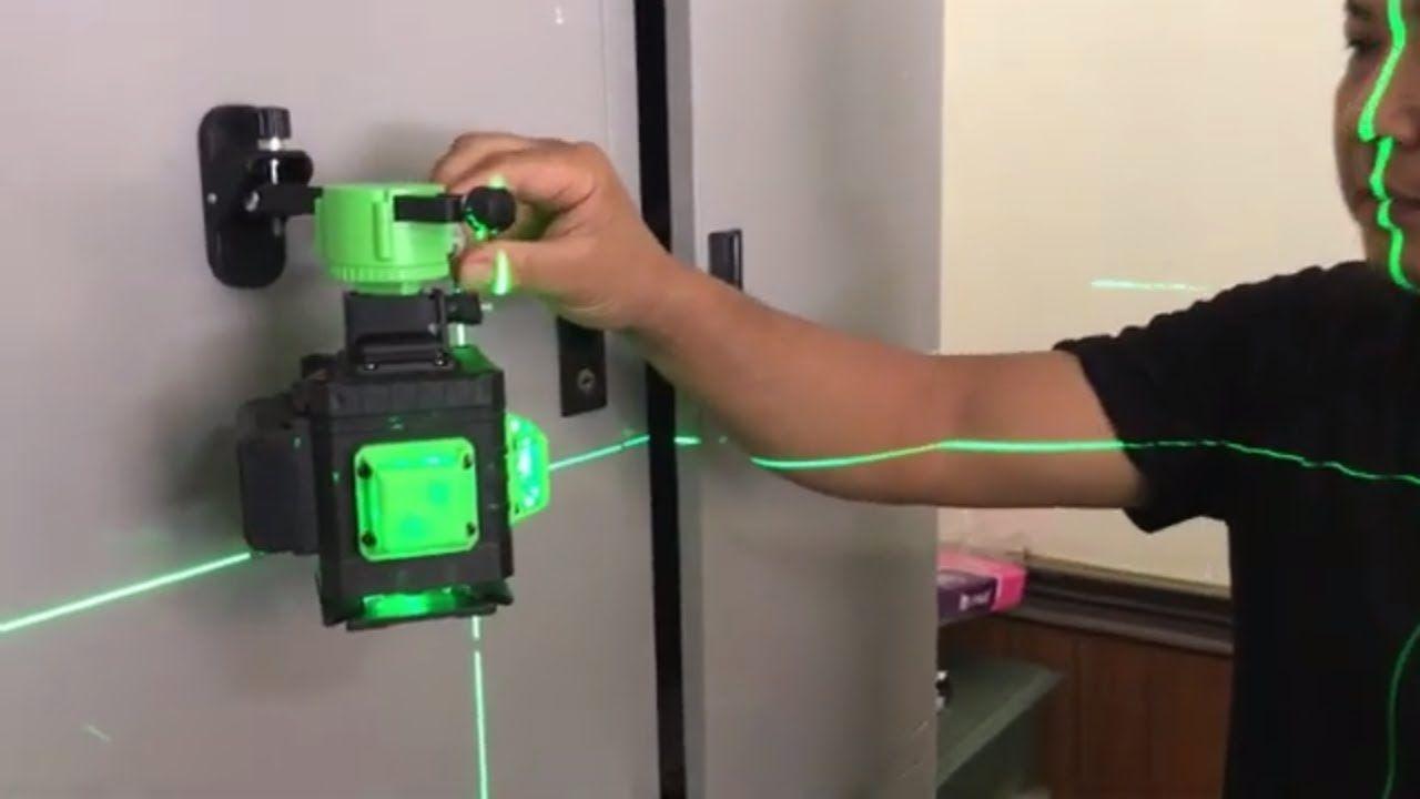 may-can-bang-laser-tia-xanh