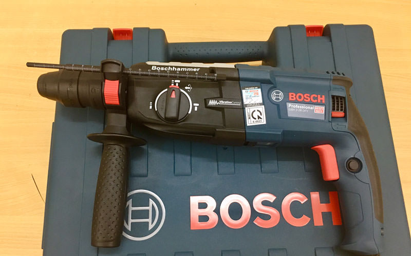 Khả năng làm việc của máy khoan bê tông Bosch GBH 2-28 DFV