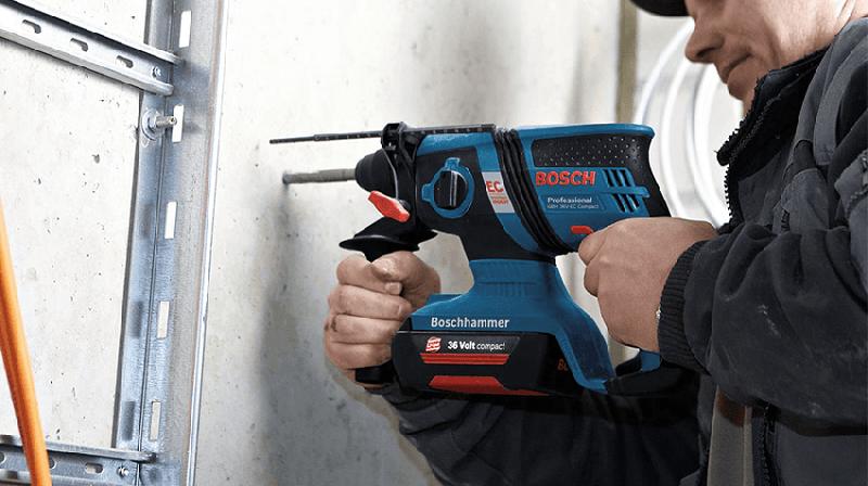 Khả năng làm việc của Bosch GBH 36V-LI