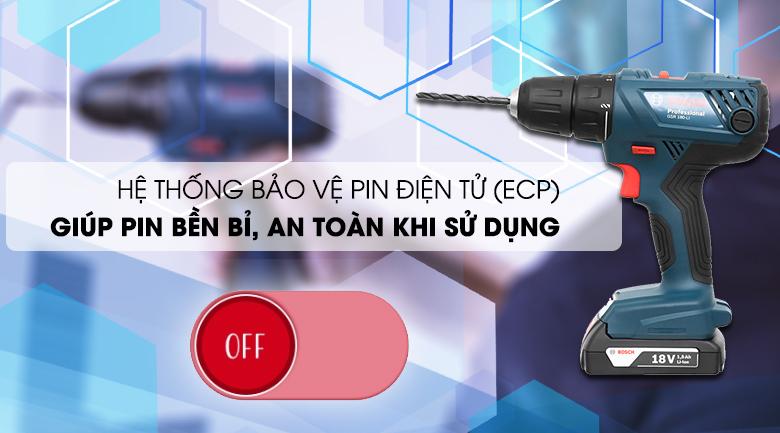 Tính năng nổi bật của máy khoan pin Bosch GSR 180 LI (18V)