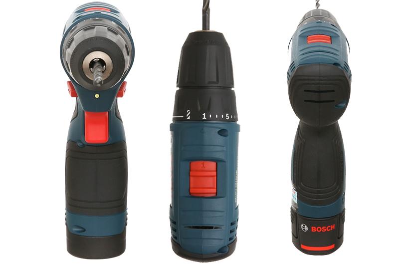 Đặc điểm nổi bật của máy khoan vặn vít dùng pin GSR 120-LI