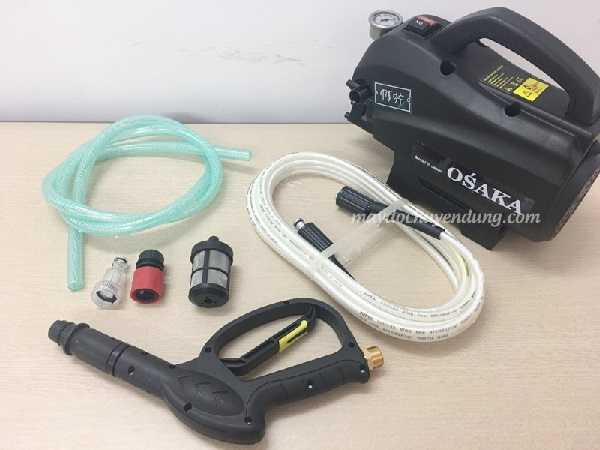 Máy rửa xe áp lực cao Osaka 2400W - Giá tham khảo: 1.500.000 đ