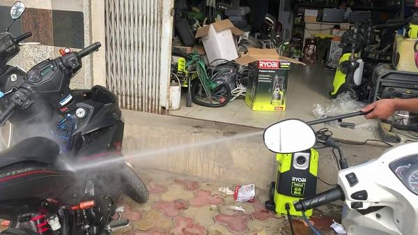 Cách sử dụng máy rửa xe Ryobi