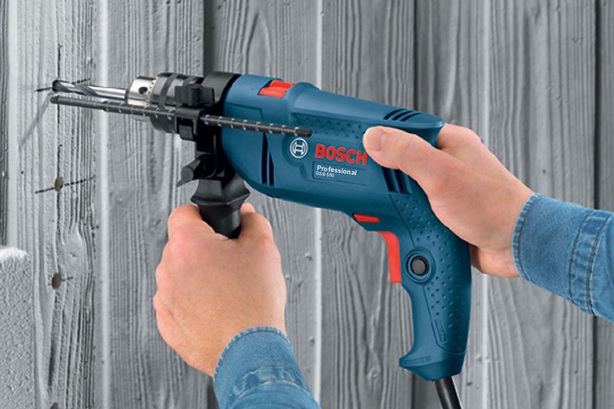 Máy khoan gia đình giá rẻ Bosch GSB 550