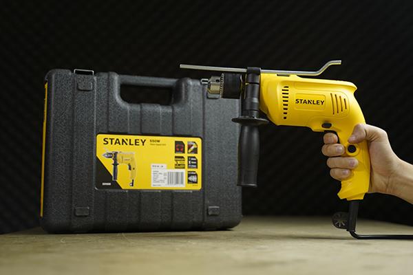 Bộ máy khoan 13 món Stanley SDH600KV