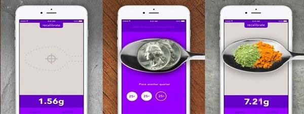 Ứng dụng cân điện tử tiện lợi trên điện thoại