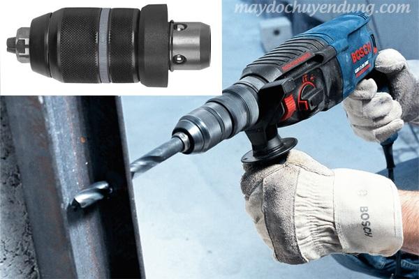 Đầu kẹp mũi khoan SDS - SDS Plus cho máy khoan bê tông