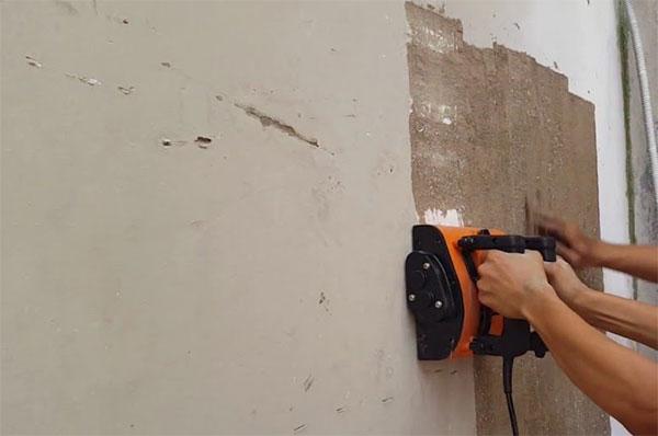 cách chà tường để sơn