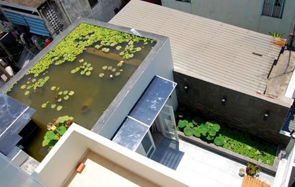 chống nóng cho nhà mái bằng