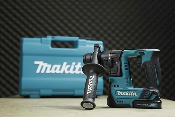 Máy khoan bê tông cầm tay dùng pin Makita HR140DSAE1 12V-BL