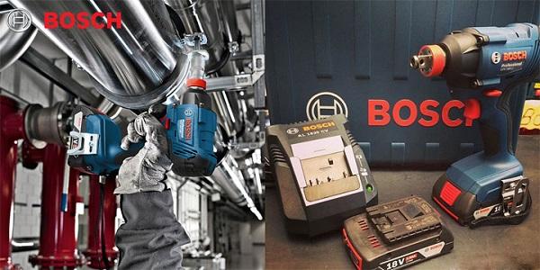 Máy bắt ốc vít dùng pin Bosch GDX 180-LI