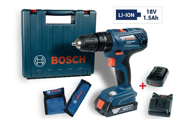 Máy khoan vặn vít dùng Pin Bosch GSB 180-LI
