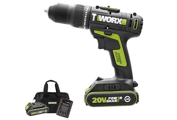 Máy khoan gỗ cầm tay mini Worx Green WU179