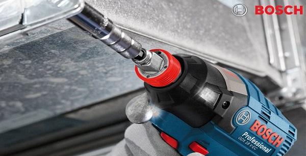 Máy siết bu lông sử dụng pin: Bosch GDX 18V EC