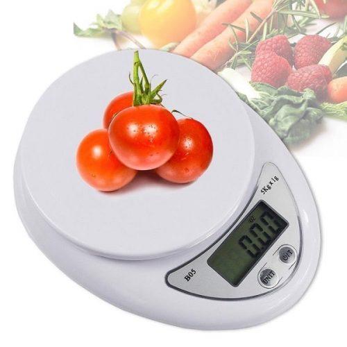 Cân điện tử nhà bếp được dùng phổ biến trong các bếp nấu
