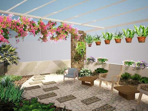 Những lưu ý khi trồng cây trên sân thượng
