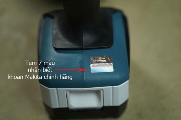 Cách nhận biết máy khoan pin Makita chính hãng