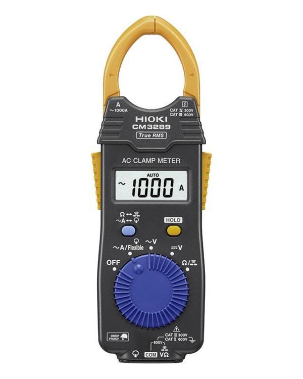 đánh giá ampe kìm Hioki CM3289