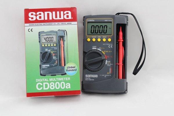 Đánh giá đồng hồ vạn năng Sanwa CD800a