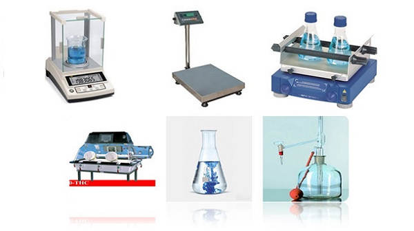 Các thiết bị cơ bàn trong phòng thí nghiệm