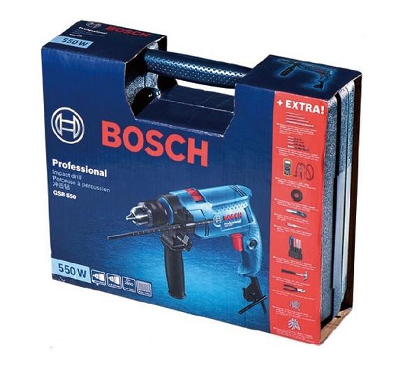 Vỏ hộp Bosch chính hãng cứng cáp, chắc chắn