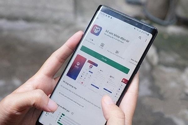 Tải app Sổ sức khỏe điện tử