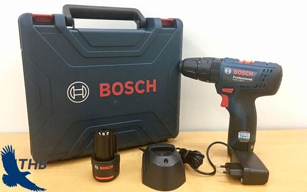 Bosch GSB 120-LI sử dụng pin dùng linh hoạt