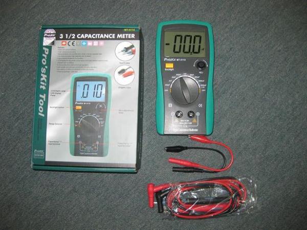 đồng hồ vạn năng đo tụ điện
