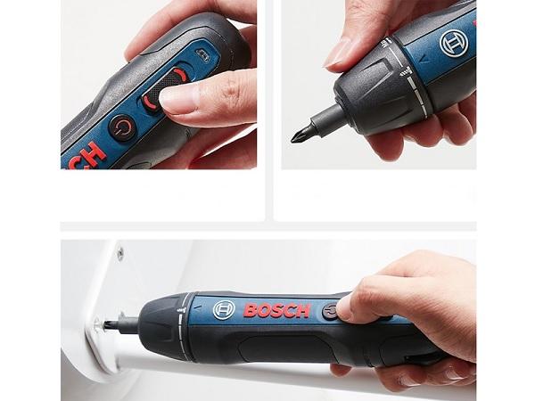 Ưu điểm của máy bắn vít Bosch dùng pin