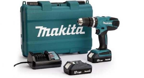 Máy khoan pin Makita HP457DWE 18V bền chắc