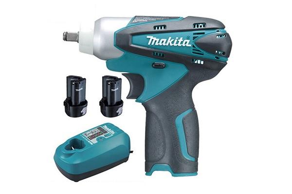 Makita TW100DWE có thiết kế không dây nhỏ gọn