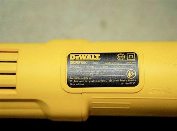 Máy mài góc Dewalt DWE8100S