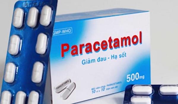 Sử dụng paracetamol để hạ sốt