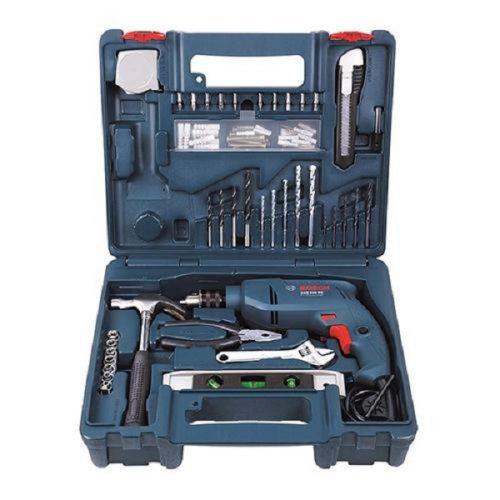 Bộ máy khoan Bosch 550W kết hợp với 100 món phụ kiện