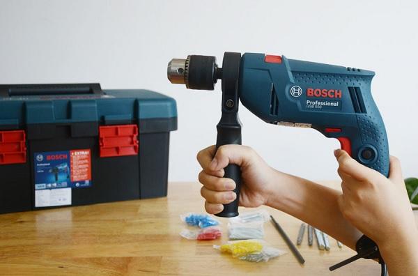 Bosch GSB 550 freedom set 550W - tối ưu cho các công việc sửa chữa