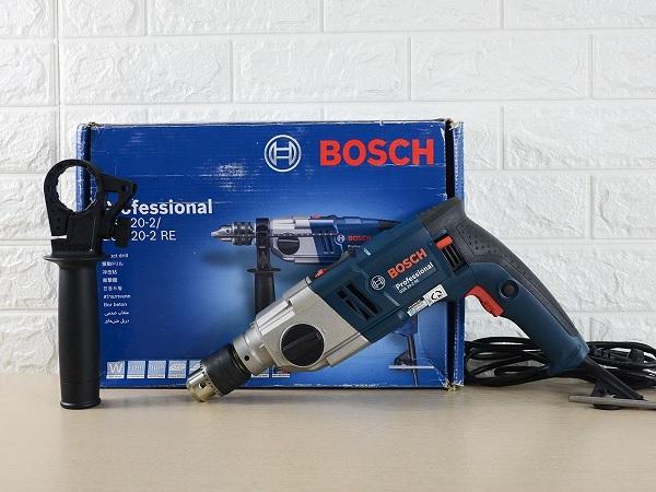 Bosch GSB 20-2 RE có thiết kế giống máy khoan bê tông Bosch