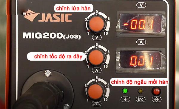 máy hàn mig jasic 200 (j03)