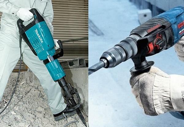 Lựa chọn máy đục bê tông có công suất phù hợp
