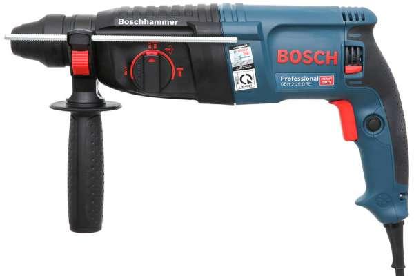 Sử dụng máy khoan Bosch GBH 2-26 DRE cho nhiều công việc khác nhau