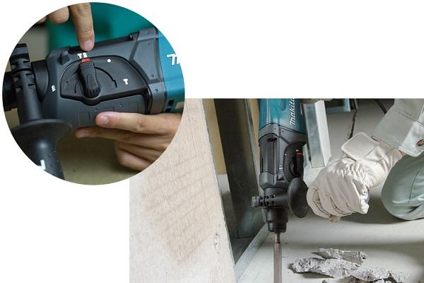 Máy khoan búa HR2470 đa chức năng, khoan bê tông vượt trội