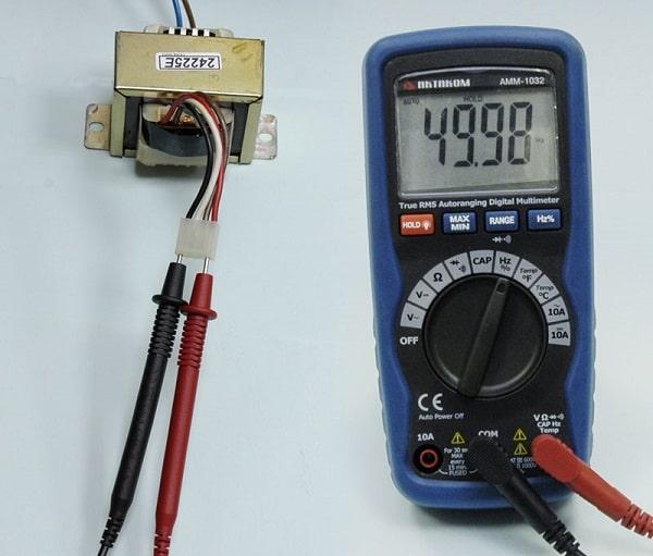 đo tần số bằng đồng hồ vạn năng